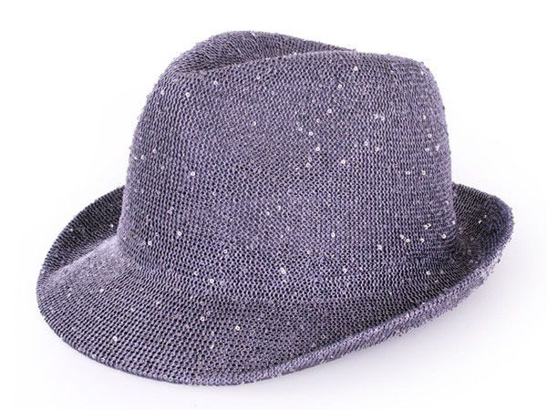 Saturday night fever glitter hat silver