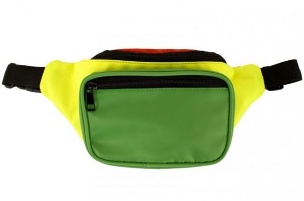 Belt bag red yellow green
