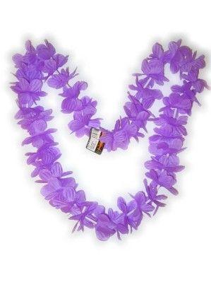 Hawaii necklace purple wreaths 12 pieces