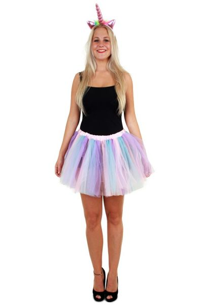 Tulle skirt pastel unicorn ladies