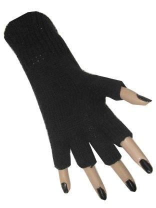 Fingerless glove black