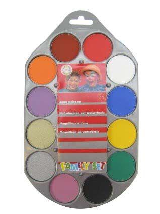 Familyset aqua palette 12 colors