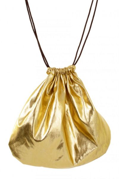 Pouch bag gold