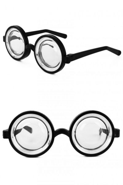 Jam jar glasses with thick glasses