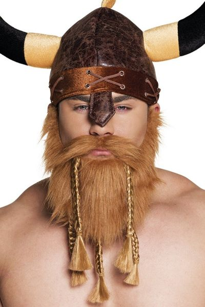 Beard with mustache Viking