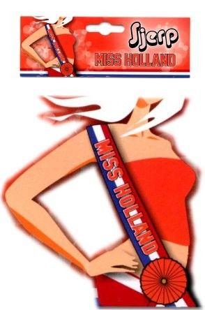 Sash MISS HOLLAND