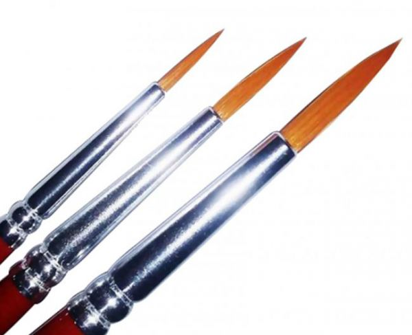 SUPERSTAR Synthetic brush set nr 2,4,6