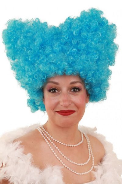 Funny wig Lucy turquoise