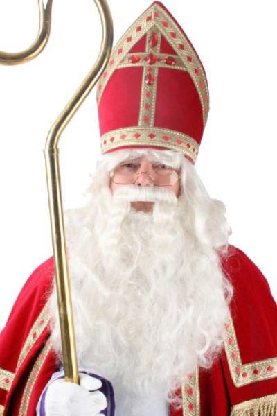 Sinterklaas wig beard