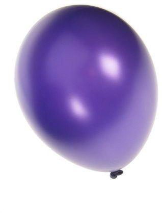 Quality balloon metallic purple